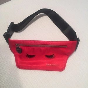 Smashbox Red Fannypack Pouch   Brand new